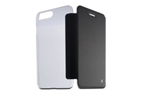 B0936FU24 Ksix iPhone 7 Plus Black Folio Case