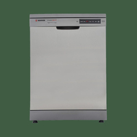 Hoover Dynamic Next HDP1D39X 13 Place Free Standing Dishwasher - Silver