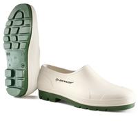 Dunlop Bicolour Wellie Shoe, White