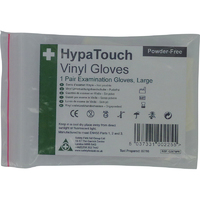 HypaTouch Vinyl Gloves (6 pairs per pack)