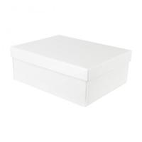 BOX & LID 455 X 320 X 150mm WHITE BUBBLE
