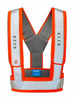 HI-VIS VEST WITH LED LIGHTS