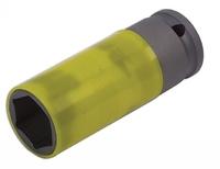 Alloy Wheel Nut Socket  22mm 1/2inch Drive