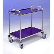 Trolley Stainless Steel 2 Tier 800x500x960mm