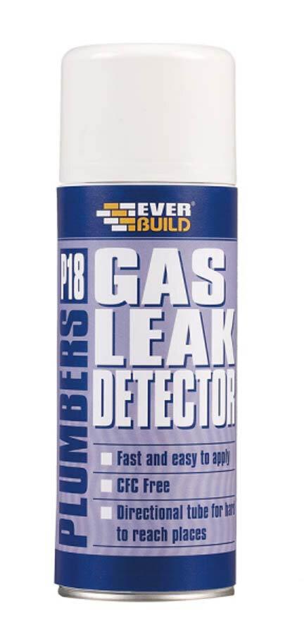 P18 Plumbers GAS Leak Detector 400ML P18GASLEAK