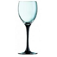 Domino Wine Goblet BlackStem12.5oz 35cl LCE250ml Carton of 8