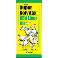 Super Solvitax Pure Cod Liver Oil Liquid 150ml x 1