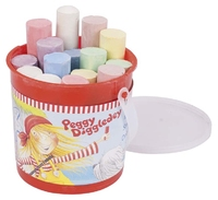 Street Chalk Coloured in a Tub. (Priced in singles, order in multiples of 1)