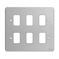 Ultimate GRID Stainless Steel GANG PLATE|LV0701.1026