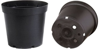Soparco SM Container Round Form 1lt - Black