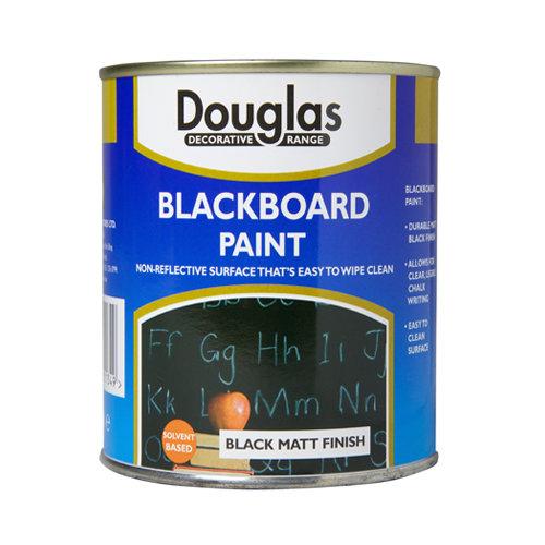 Douglas Matt Blackboard Paint - 250ml