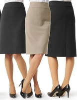 Biz Ladies Classic Below Knee Length Skirt