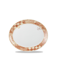 Oval Plate/Platter 20.3cm Carton of 12