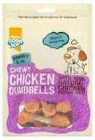 Good Boy Pawsley & Co. Dog Treats - Chewy Chicken Dumbbells 350g x 3