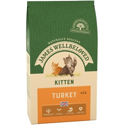 James Wellbeloved Kitten Turkey 4kg