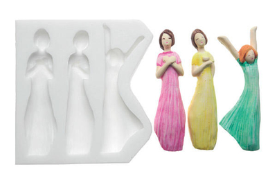 Figurines silicone moulds