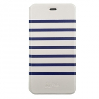 Jean Paul Gautier iPhone 6 Blue/White Folio