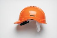 Scott HC300VELB Vented Terylene Insert Helmet Orange