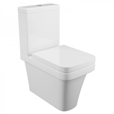 Rivelin Fully Cloaked Toilet Pan
