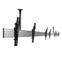 B-Tech SYSTEM X - Multi-Screen Flat Screen Menu Board System For Single Rows Ceiling Mounted