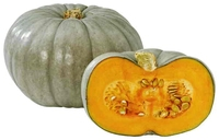 Blue crown pumpkin