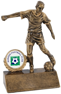 9cm Budget Soccer Figure with 25mm Recess | T
