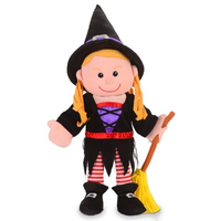 Witch Hand puppet (Order in 2's)