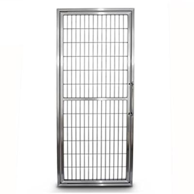 Purfect Stainless Steel Kennel Doors Reversible