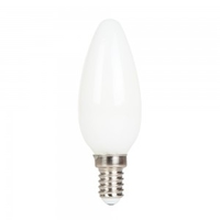 4w White Candle Cross Filament Bulb E14 2700K