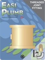 """Easi Plumb 3/4"""" Brass Round Socket"""