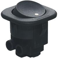 Switch | Rocker Switch Round Cap with 2 Screw Terminal 13A 125V 6.5A 250VAC