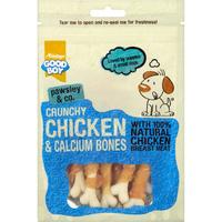 Good Boy Pawsley & Co. Dog Treats - Crunchy Chicken & Calcium Bones 100g x 8