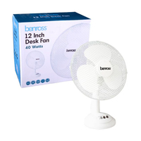 300MM OSCILLATING FAN 3 SPEED DESK