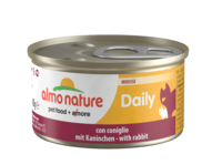 Almo Nature Daily Menu Cat Foil - Mousse with Rabbit 85g x 24