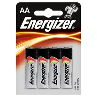 ENERGIZER AA BATTERY CARD 4