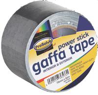 GAFTBLA50 PROSOLVE GAFFA BLACK 50MMX50M