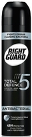 Right Guard Total Defense 5 Men Antibacterial Anti-Perspirant Aero 250Ml