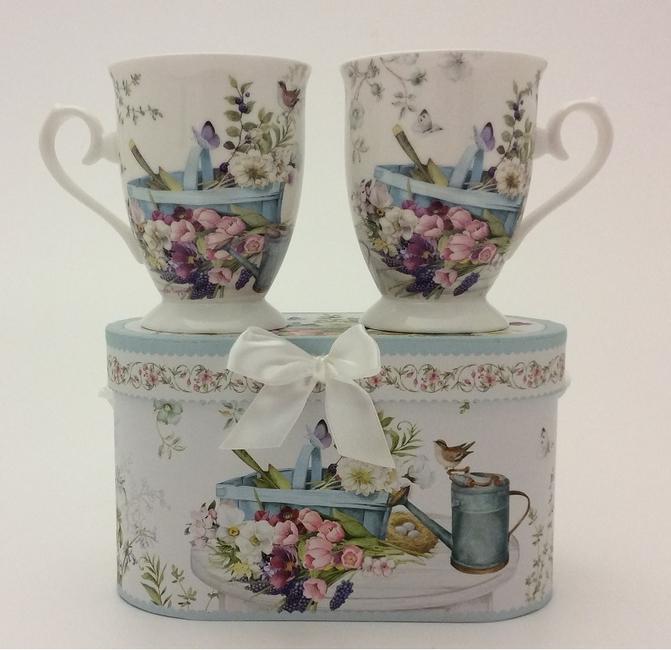 Set of 2 Garden Mugs