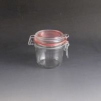 200g Clip top glass storage jar