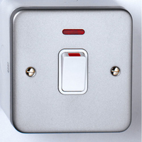 20A DP Metal Clad Switch + Neon