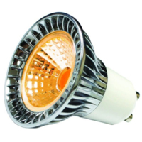 6W AMBER LED 100-240V GU10 DIMMABLE