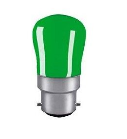 EVEREADY GREEN PYGMY LAMP B22 15W