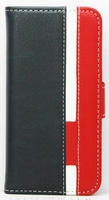 FOLIO1283 iPhone 5/SE Folio Navy Red White