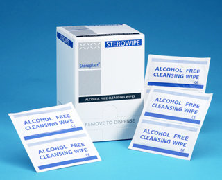 Alcohol Free Cleansing Wipes (100)