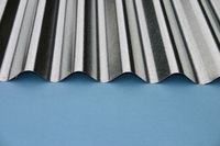 2.4 x 0.6 Metre Corrugated Galvanised Roofing Sheet (8ft x 2ft)
