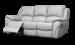 Serena Leather Sofa 1 Grey