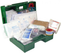 1-25 Office First Aid Kit Wall Mount