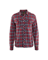 Blaklader 3299-1138 Shirt Red/Navy