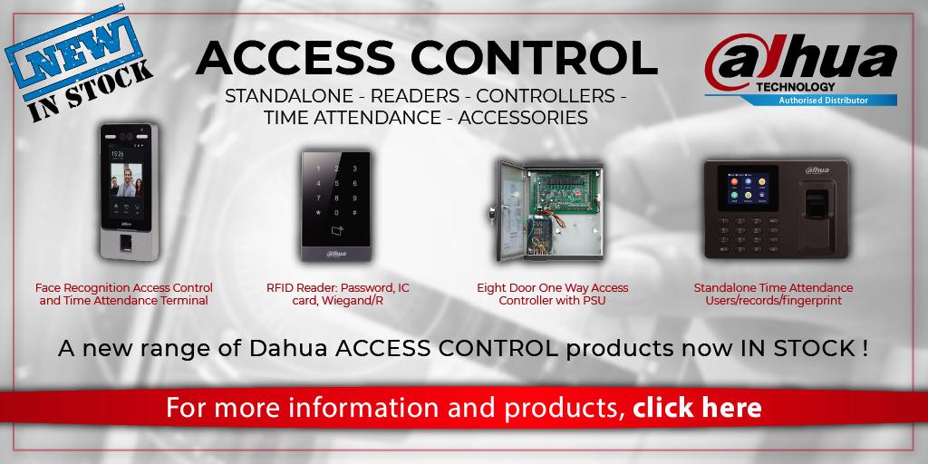 Dahua Access Control Now in Stock!