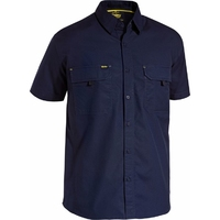 Bisley X Airflow Ripstop Lightweight Vented Short Sleeve Shirt